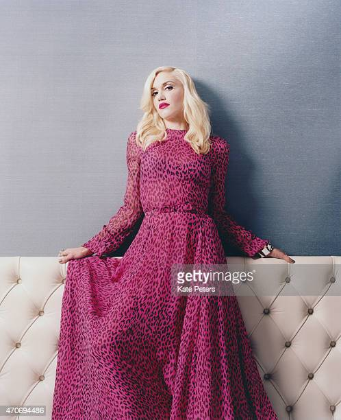 Singer Gwen Stefani is photographed for the Telegraph on November 23 2012 in London England