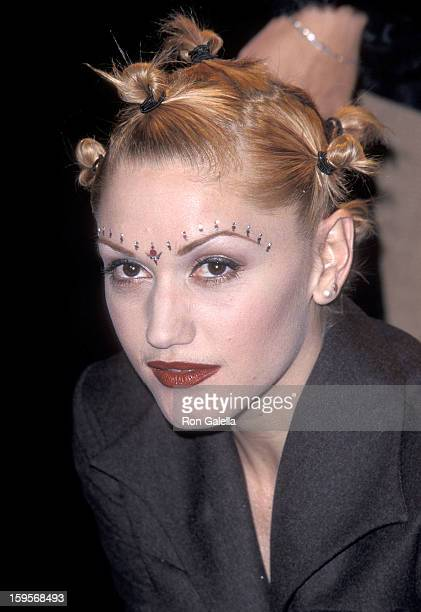 Singer Gwen Stefani of No Doubt attends the Eighth Annual Billboard Music Awards on December 8 1997 at the MGM Grand Garden Arena in Las Vegas Nevada