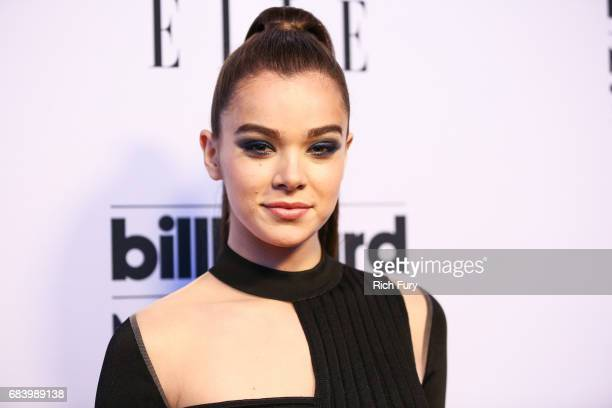 Singer Hailee Steinfeld attends the '2017 Billboard Music Awards' and ELLE Present Women In Music at YouTube Space LA at YouTube Space LA on May 16...