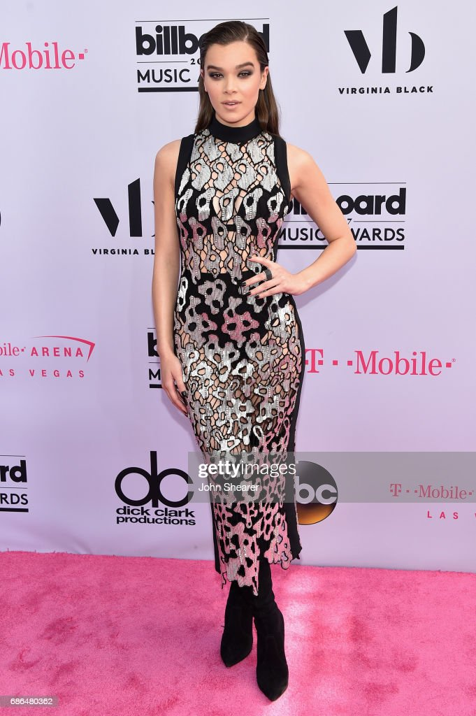 Singer Hailee Steinfeld attends the 2017 Billboard Music Awards at T-Mobile Arena on May 21, 2017 in Las Vegas, Nevada.