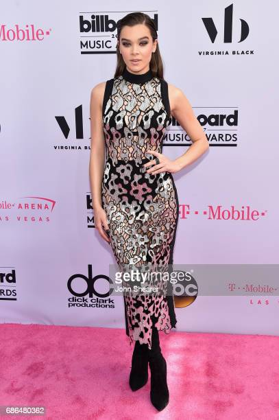 Singer Hailee Steinfeld attends the 2017 Billboard Music Awards at TMobile Arena on May 21 2017 in Las Vegas Nevada