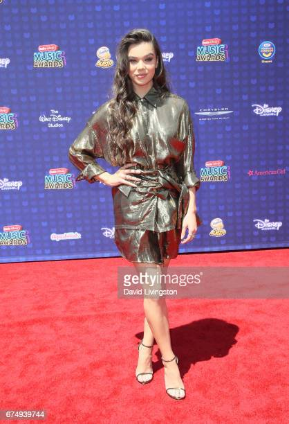 Singer Hailee Steinfeld attends the 2017 Radio Disney Music Awards at Microsoft Theater on April 29 2017 in Los Angeles California