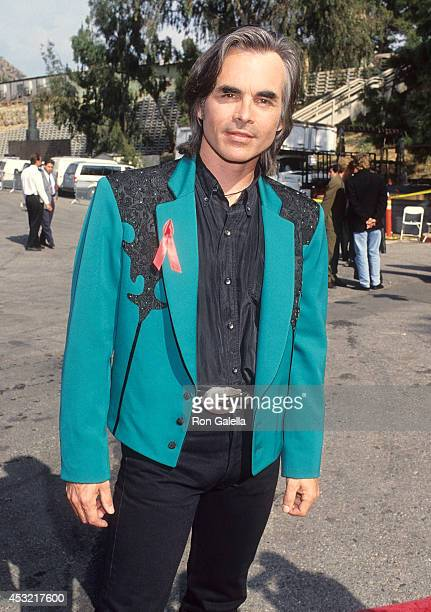 Singer Hal Ketchum attends the 28th Annual Academy of Country Music Awards on May 11 1993 at Universal Amphitheatre in Universal City California