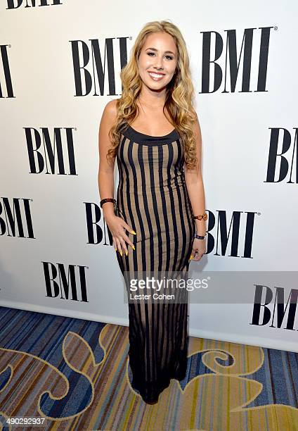 Singer Haley Reinhart attends the 2014 BMI Pop Awards at the Beverly Wilshire Four Seasons Hotel on May 13 2014 in Beverly Hills California
