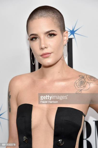 Singer Halsey at the Broadcast Music, Inc honors Barry Manilow at the 65th Annual BMI Pop Awards on May 9, 2017 in Los Angeles, California.