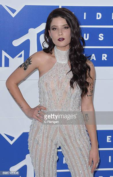 Singer Halsey attends the 2016 MTV Video Music Awards at Madison Square Garden on August 28 2016 in New York City