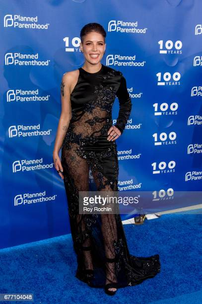 Singer Halsey attends the Planned Parenthood 100th Anniversary Gala at Pier 36 on May 2 2017 in New York City