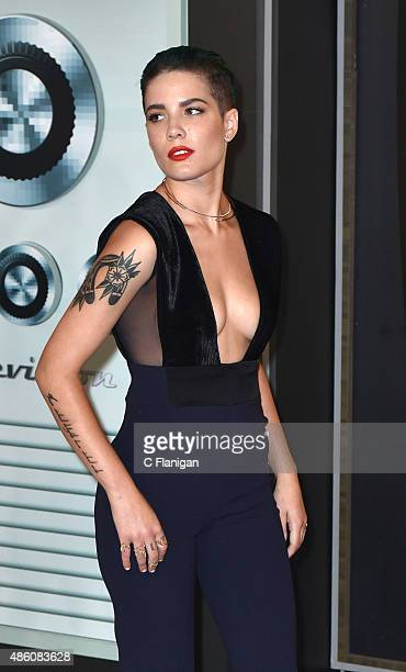Singer Halseyi arrives to the 2015 MTV Video Music Awards at Microsoft Theater on August 30 2015 in Los Angeles California