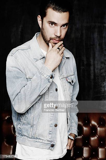 Singer Hanni El Khatib is photographed for Self Assignment on June 21 2013 in Paris France