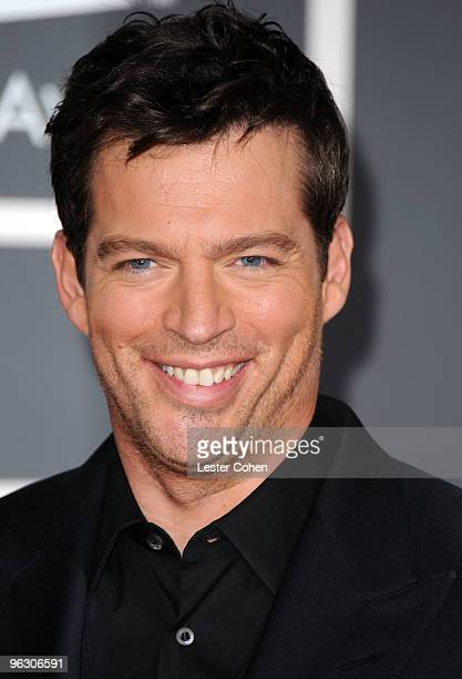 Singer Harry Connick Jr arrives at the 52nd Annual GRAMMY Awards held at Staples Center on January 31 2010 in Los Angeles California