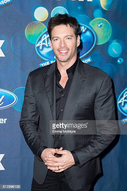 Singer Harry Connick Jr attends Meet Fox's American Idol XV Finalists at The London Hotel on February 25 2016 in West Hollywood California