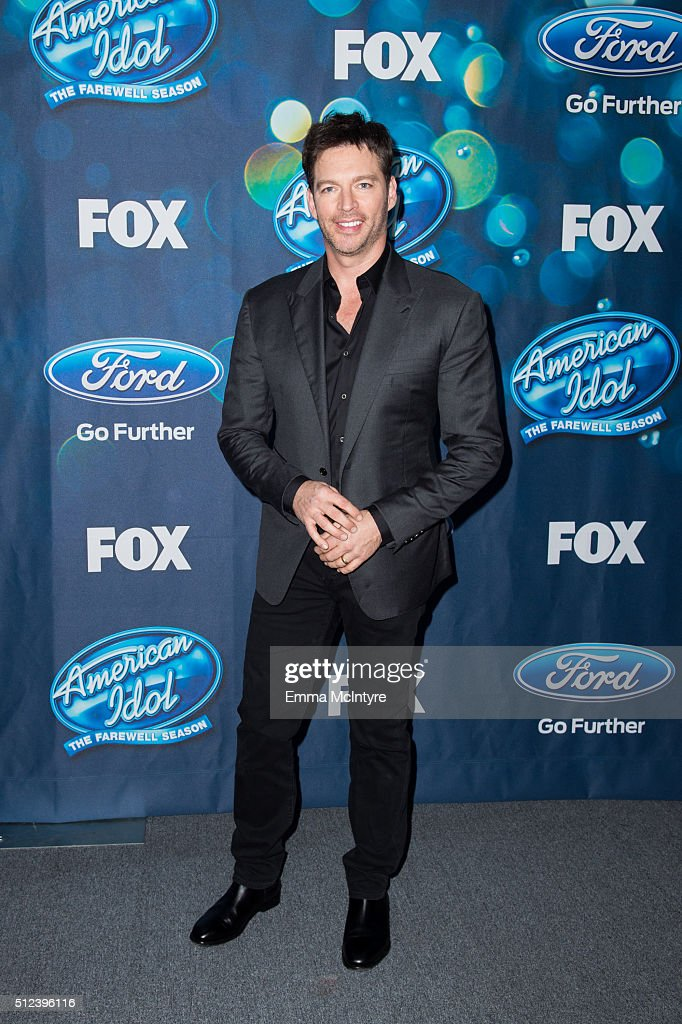 Singer Harry Connick Jr. attends Meet Fox's 'American Idol XV' Finalists at The London Hotel on February 25, 2016 in West Hollywood, California.