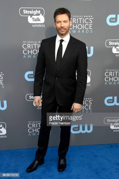 Singer Harry Connick Jr attends The 23rd Annual Critics' Choice Awards at Barker Hangar on January 11 2018 in Santa Monica California