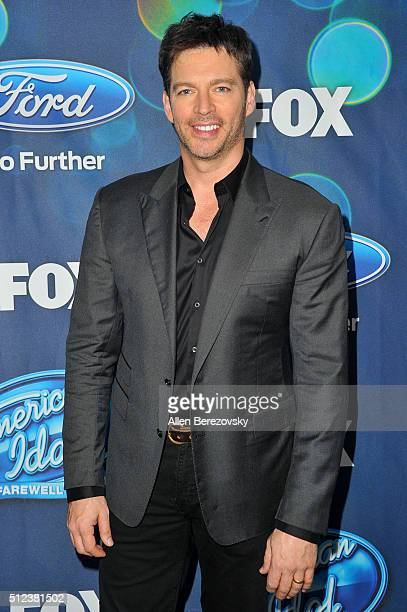 """Singer Harry Connick, Jr. Attends the """"American Idol XV"""" Finalists party at The London Hotel on February 25, 2016 in West Hollywood, California."""