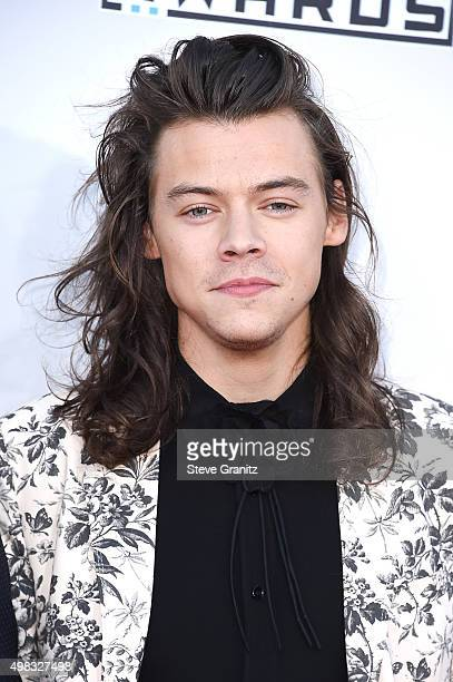 Singer Harry Styles attends the 2015 American Music Awards at Microsoft Theater on November 22 2015 in Los Angeles California
