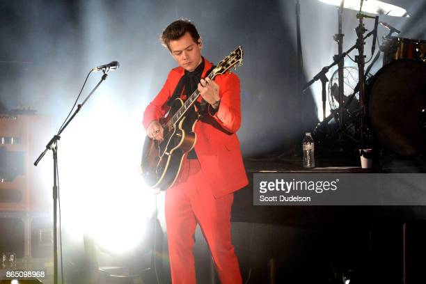 Singer Harry Styles of One Direction performs onstage during the 5th annual We Can Survive benefit concert presented by CBS Radio at the Hollywood...