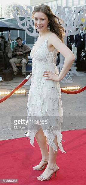 Singer Hayley Westenra arrives at the Once Upon A Time gala performance, the main event of the Hans Christian Andersen Bicentenary Celebrations, at...