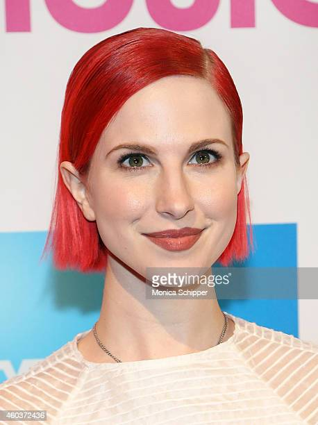 Singer Hayley Williams attends the 2014 Billboard Women In Music Luncheon at Cipriani Wall Street on December 12 2014 in New York City