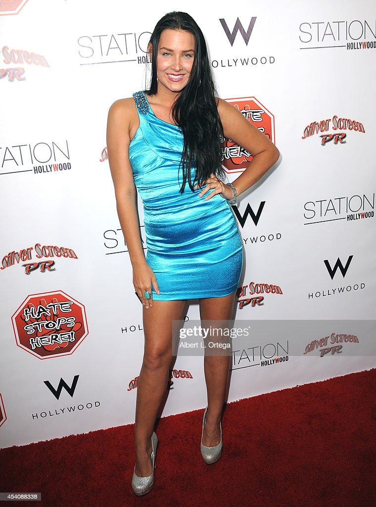 Singer Heart Hays arrives at W Hotel Station Club's Annual Emmy Party held at W Hollywood on August 23, 2014 in Hollywood, California.