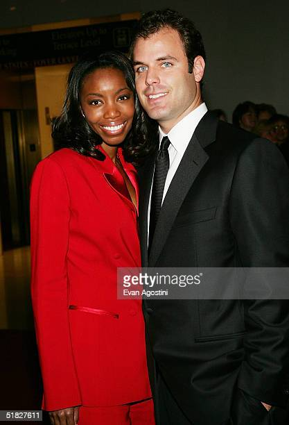 Singer Heather Headley and husband Brian Musso arrive at the 27th Annual Kennedy Center Honors Gala at The Kennedy Center for the Performing Arts...