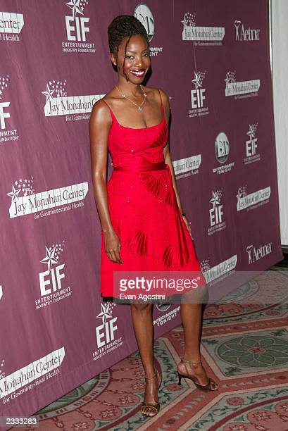 Singer Heather Headley at the 42nd Vine Hollywood Hits Broadway fundraiser for the Jay Monahan Center for Gastrointestinal Health and National...