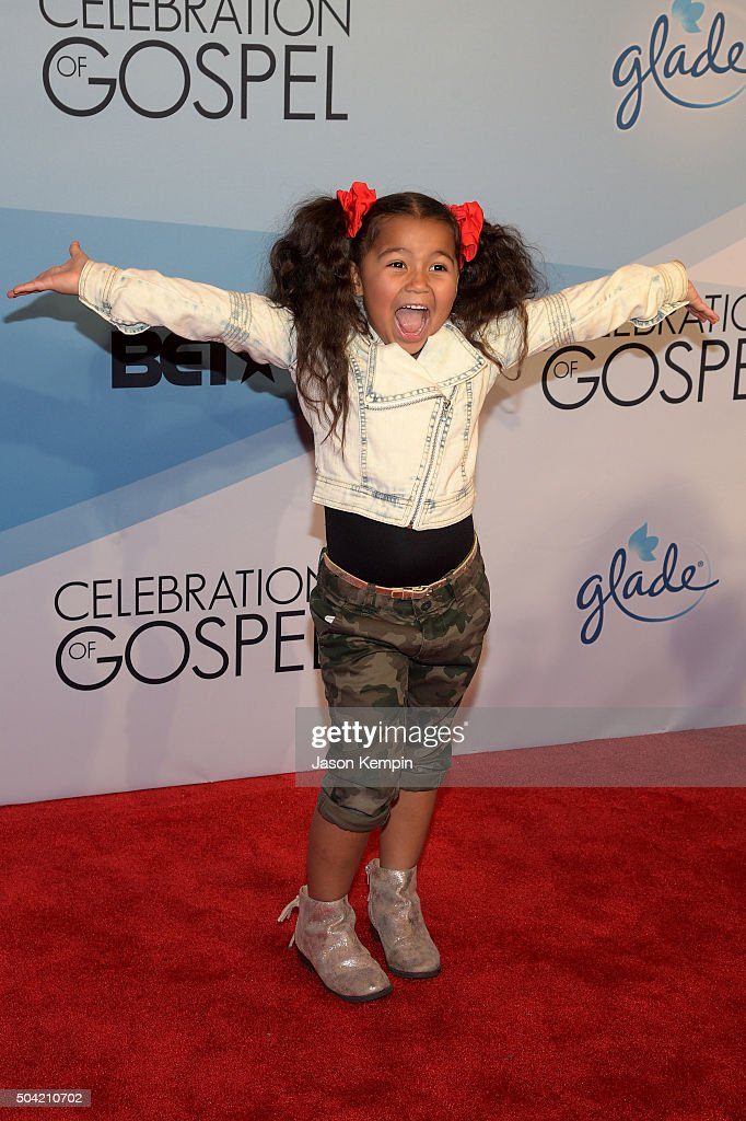 Singer Heavenly Joy attends BET Celebration Of Gospel 2016 at Orpheum Theatre on January 9, 2016 in Los Angeles, California.