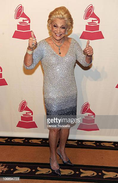 Singer Hebe Camargo attends the 11th Annual Latin GRAMMY Awards Latin Recording Academy Special Awards held at The Four Seasons Hotel on November 10...