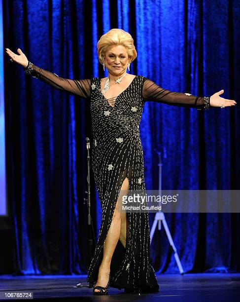 Singer Hebe Camargo onstage at the 11th Annual Latin GRAMMY Awards PreTelecast held at the Mandalay Bay Events Center on November 11 2010 in Las...