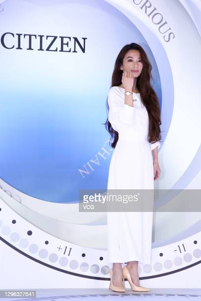 Singer Hebe Tien attends Citizen Watch event on January 14, 2021 in Taipei, Taiwan of China.