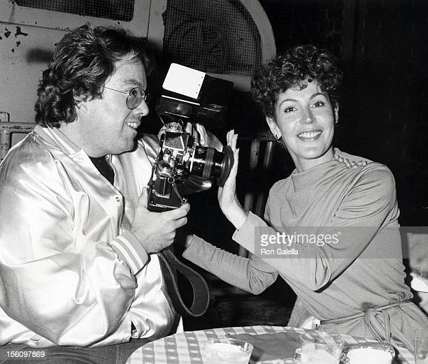 Singer Helen Reddy and Allen Carr attending the wrap party for 'Paradise Alley' on February 11, 1978 at Universal Studios in Universal City,...