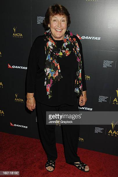 Singer Helen Reddy attends the 2nd Annual AACTA International Awards held at the Soho House on Saturday January 26 2013 in West Hollywood California