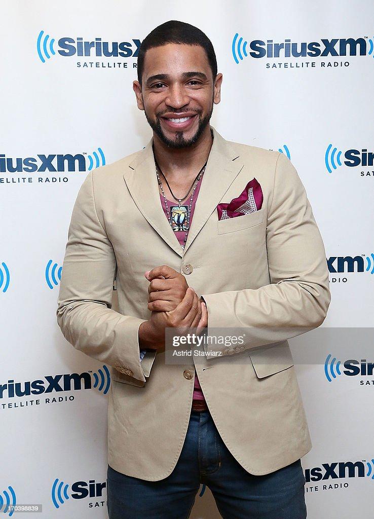 Singer Henry Santos visits the SiriusXM Studios on June 12, 2013 in New York City.