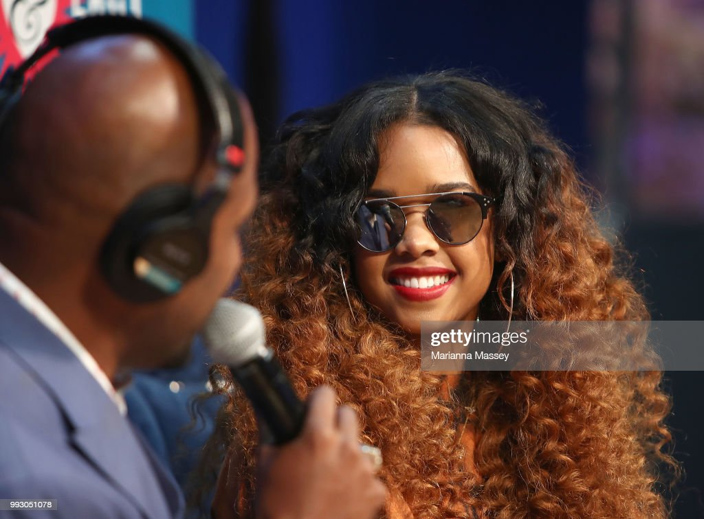 SiriusXM's Heart & Soul Channel Broadcasts from Essence Festival In New Orleans - Day 1 : News Photo