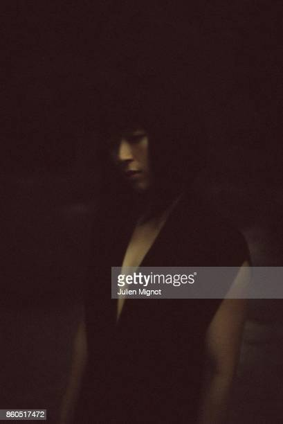Singer Hikaru Utada is photographed for Universal Music on July 2016 in Paris France