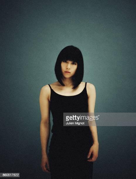 Singer Hikaru Utada is photographed for Universal Music on July 2016 in Paris, France.