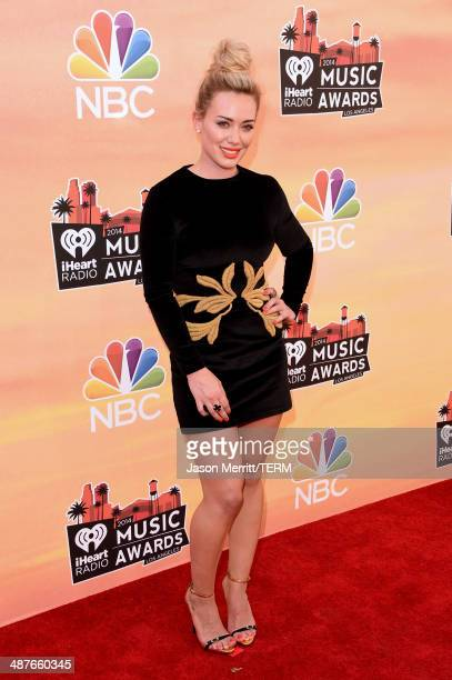 Singer Hilary Duff attends the 2014 iHeartRadio Music Awards held at The Shrine Auditorium on May 1 2014 in Los Angeles California iHeartRadio Music...