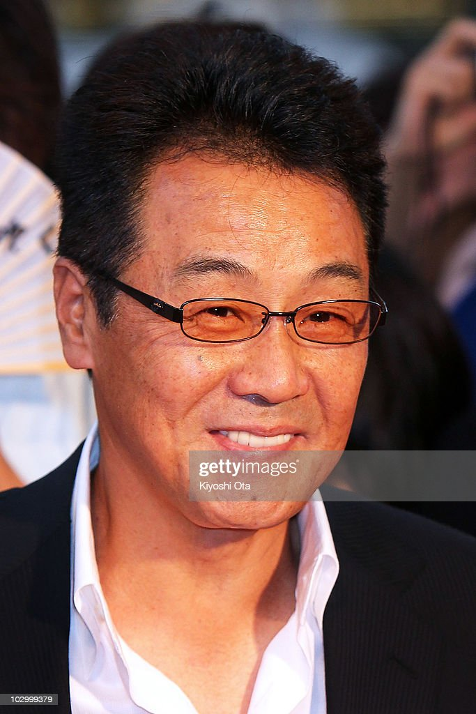 Singer Hiroshi Itsuki attends the 'Inception' Japan Premiere at Roppongi Hills on July 20, 2010 in Tokyo, Japan. The film will open in Japan on July 23.