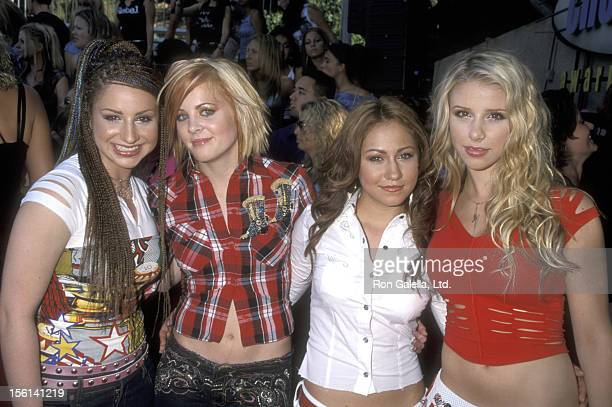 Singer Holly BlakeArnstein Singer Ashley Poole Singer Diana Ortiz and Singer Melissa Schuman