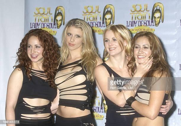 Singer Holly BlakeArnstein Singer Melissa Schuman Singer Ashley Poole and Singer Diana Ortiz