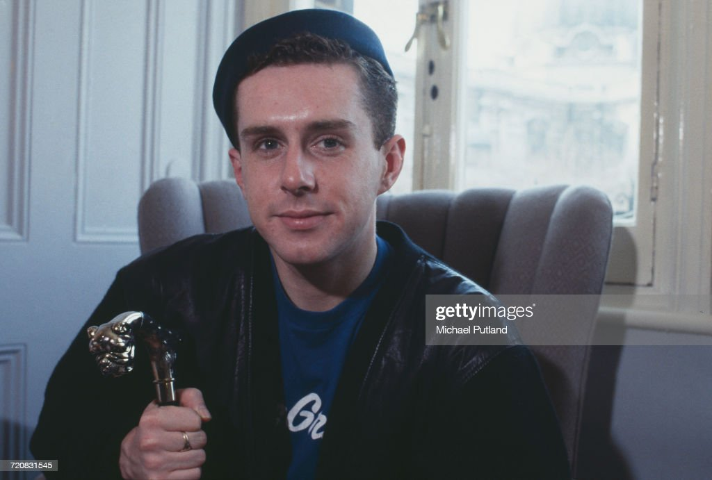 Singer Holly Johnson, of British pop group Frankie Goes To Hollywood, London, 1986.