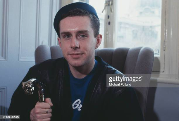 Singer Holly Johnson of British pop group Frankie Goes To Hollywood London 1986
