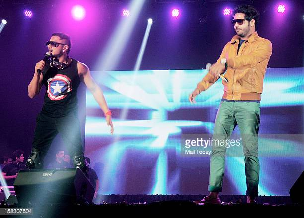 Singer Honey Singh at the launch of his new album Satan in Mumbai on Wednesday