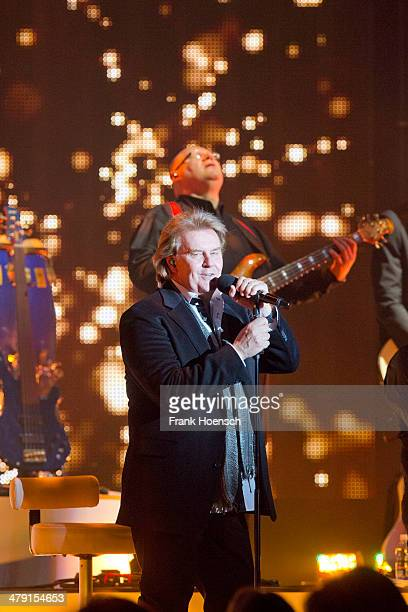 Singer Howard Carpendale performs live during a concert at the Tempodrom on March 16 2014 in Berlin Germany