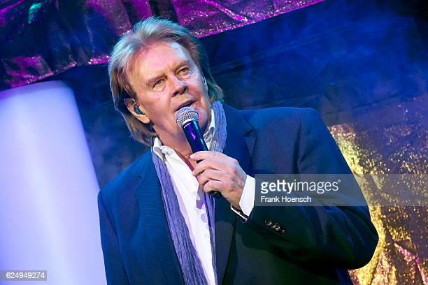 Singer Howard Carpendale performs live during 'Die Schlagernacht des Jahres' at the MercedesBenz Arena on November 19 2016 in Berlin Germany