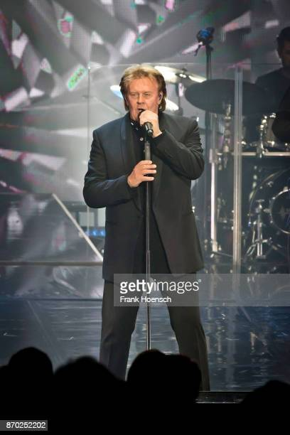 Singer Howard Carpendale performs live on stage during a concert at the Tempodrom on November 4 2017 in Berlin Germany