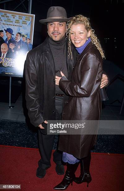 "Singer Howard Hewett and wife Angela attend the Ninth Annual Pan African Film & Arts Festival - ""Kingdom Come"" Screening on February 8, 2001 at the..."