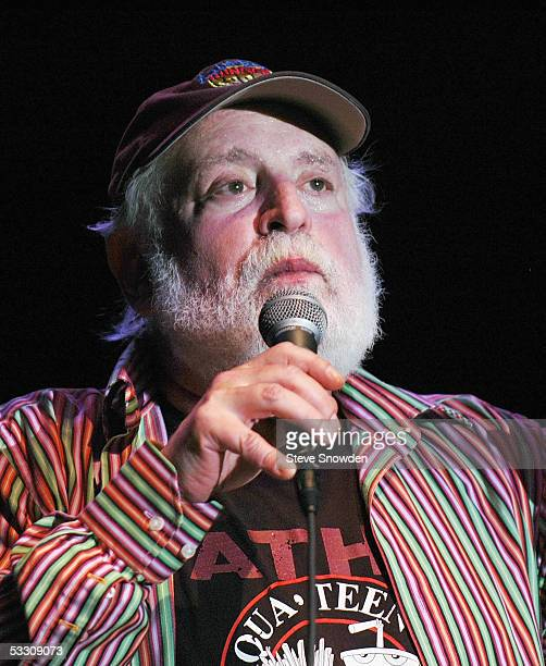 Singer Howard Kaylan of the 1960's poprock group The Turtles performs at Route 66 Casino Legends Theater on July 30 2005 in Albuquerque New Mexico...