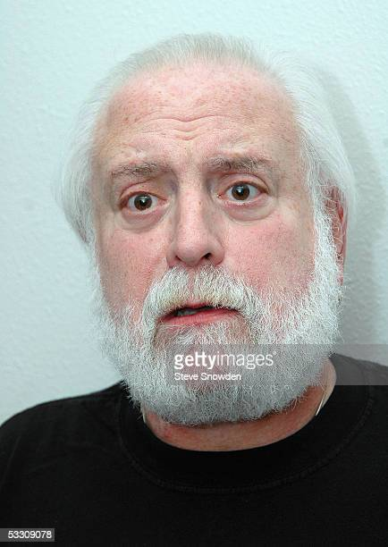 Singer Howard Kaylan of the 1960's poprock group The Turtles poses backstage at Route 66 Casino Legends Theater on July 30 2005 in Albuquerque New...