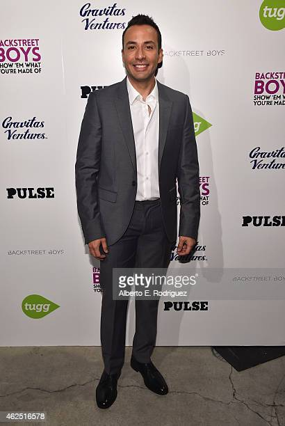 Singer Howie Dorough attends the premiere of Gravitas Ventures' Backstreet Boys Show 'Em What You're Made Of at on January 29 2015 in Hollywood...