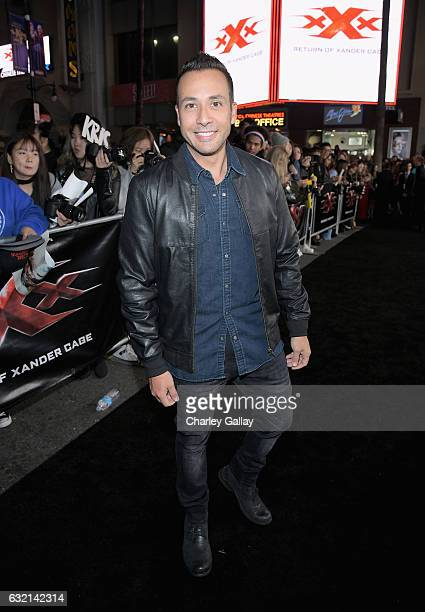 Singer Howie Dorough attends the LA Premiere of the Paramount Pictures title 'xXx Return of Xander Cage' at TCL Chinese Theatre IMAX on January 19...